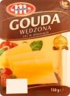 Mlekovita Gouda Käse In Scheiben geräuchert