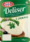 Mlekovita Deliser sandwich cottage cheese with herbs sliced 14% fat