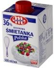 Mlekovita Dessert Śmietanka Polska UHT 36% fat.
