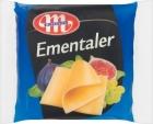Mlekovita Emmentaler verarbeitete Käse in Scheiben