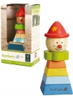 EverEarth Wooden Reclining Clown Toy for arranging shapes