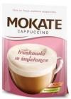 Mokate Cappuccino mit Erdbeergeschmack in Sahne - Instantkaffeegetränk in Pulverform