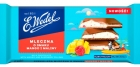 Wedel Milk Chocolate with Mango and Raspberry flavor