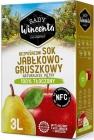 Zumo de manzana y pera Sady Wincenta, 100% exprimido