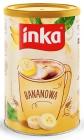 Inka Banana Instant grain coffee with a banana