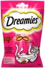 Dreamies Katzenleckerli Kissen mit leckerem Rindfleisch