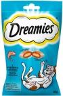 Dreamies Katzenleckerli Kissen mit leckerem Lachs