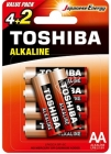 Toshiba Baterie Red Line AA