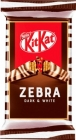 Nestlé KitKat Zebra Wafer en barra en chocolate negro y blanco