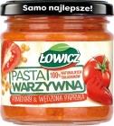 Łowicz Pasta con vegetales Tomates y pimentón ahumado
