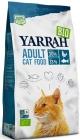 Корм для взрослых кошек Yarrah с курицей и рыбой BIO