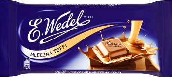 Wedel czekolada  toffi