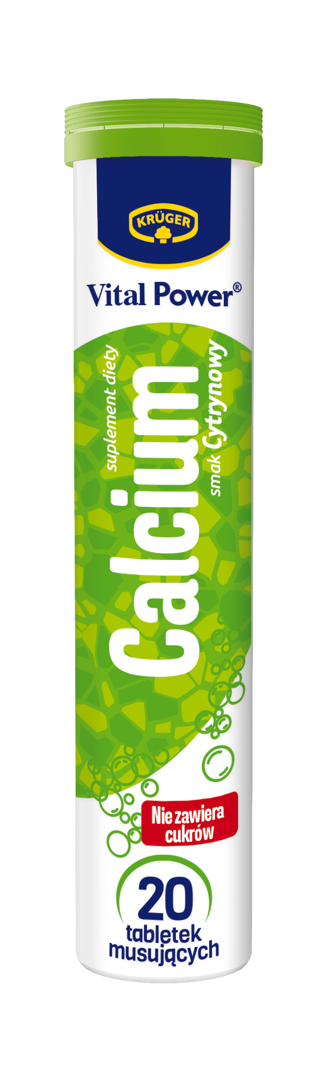Krüger Calcium smak cytrynowy