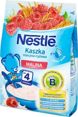 Nestle kaszka mleczno-ryżowa z malinami