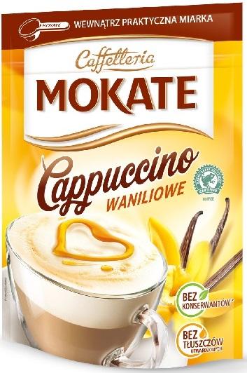 Mokate Cappuccino waniliowe