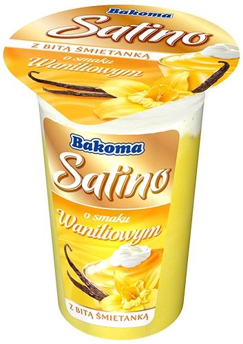 Bakoma Satino deser mleczny z bitą śmietaną  waniliowy