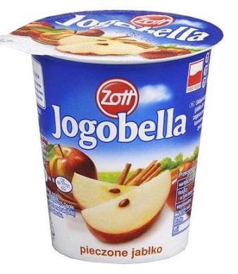 Zott Jogobella jogurt owocowy pieczone jabłko z cynamonem