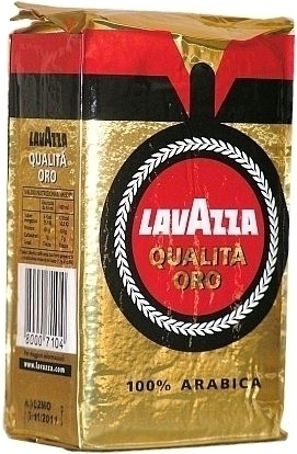 Lavazza kawa mielona Qualita Oro