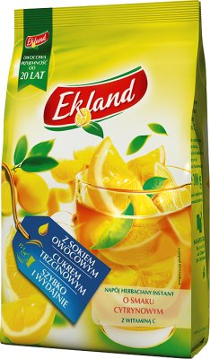 Ekoland herbata granulowana cytrynowa