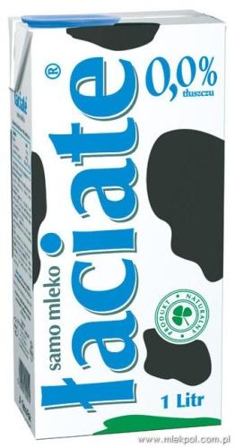 Łaciate mleko UHT 0.0%