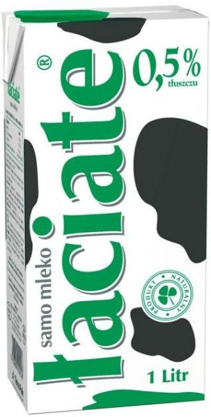 Łaciate mleko UHT 0.5%