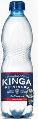 Kinga Pienińska naturalna niskosodowa woda mineralna gazowana
