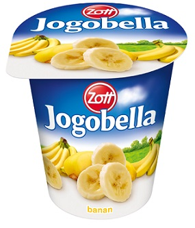 Zott Jogobella jogurt owocowy bananowy