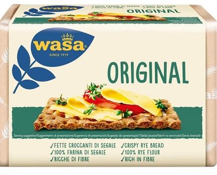 Wasa pieczywo chrupkie z przewagą mąki pełnoziarnistej Original