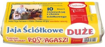 Czachorowski Jaja z chowu  ściółkowego klasa wagowa L klasa A