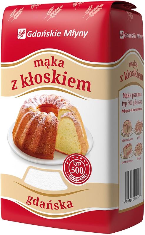 Gdańskie Młyny Mąka z kłoskiem  gdańska