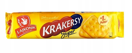 Lajkonik krakersy  Super