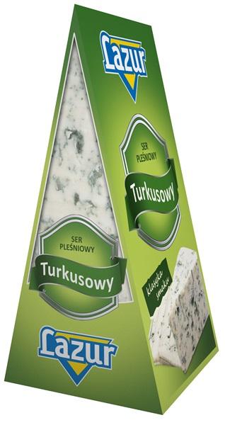 Lazur ser pleśniowy turkusowy