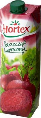 Hortex Barszczyk Czerwony sok buraczano - jabłkowy