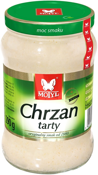 Motyl chrzan tarty