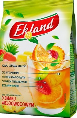 Ekoland herbata granulowana wieloowocowa