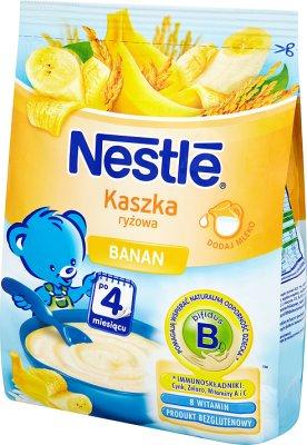 Nestle kaszka ryżowa  z bananami
