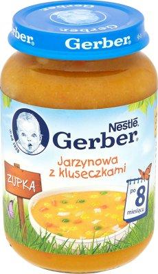 Gerber zupka  jarzynowa z kluseczkami