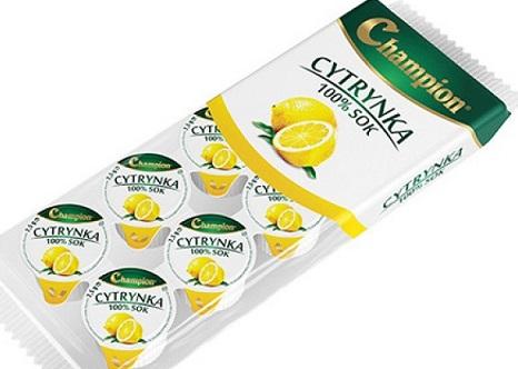 Champion cytrynka, sok cytrynowy do herbaty 10x7,5ml