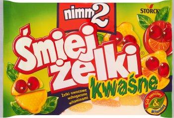 Nimm2 Śmiej żelki wzbogacone witaminami  kwaśne