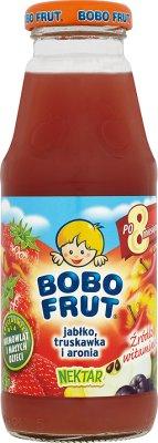 Bobo Frut nektar  jabłko - truskawka