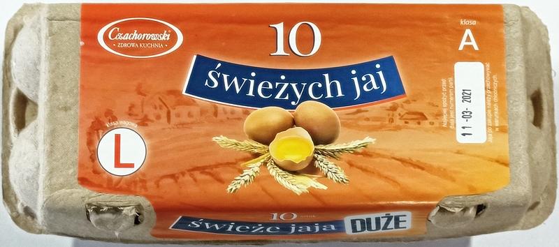 Czachorowski Jaula huevos Huevos clase de peso L clase A