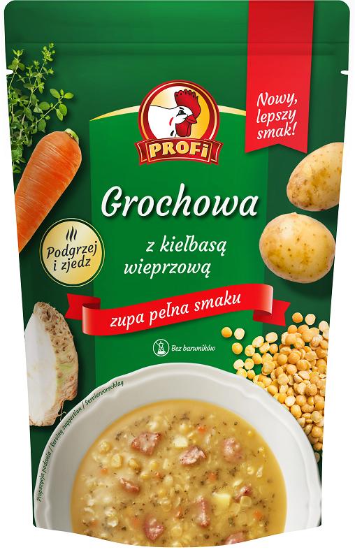 Profi Zupa grochowa z kiełbasą wieprzową