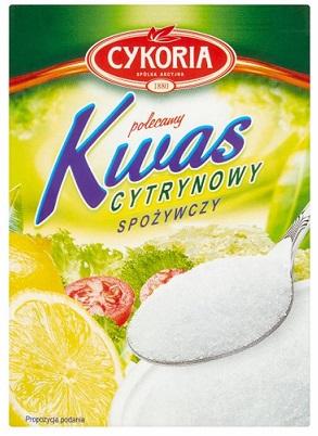 Cykoria kwas cytrynowy spożywczy