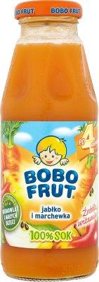 Bobo Frut sok 100%  jabłko i marchewka