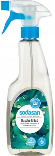 Sodasan płyn do czyszczenia kabin prysznicowych i łazienek w sprayu