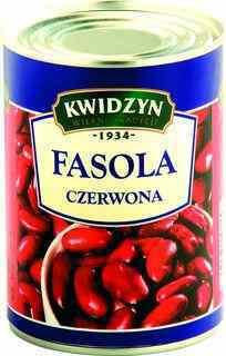 Kwidzyn Fasola czerwona w puszce