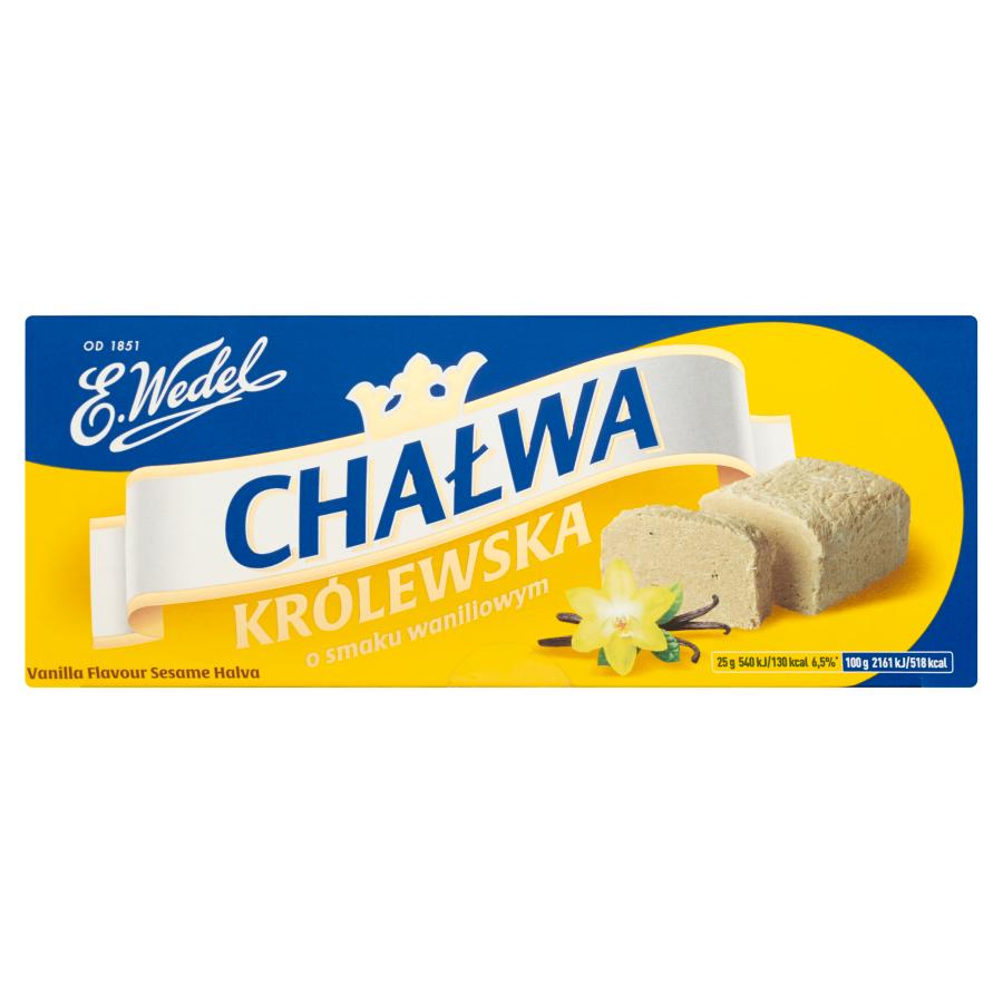 Wedel Chałwa Królewska Waniliowa