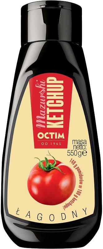 Octim Mazurski Ketchup Łagodny