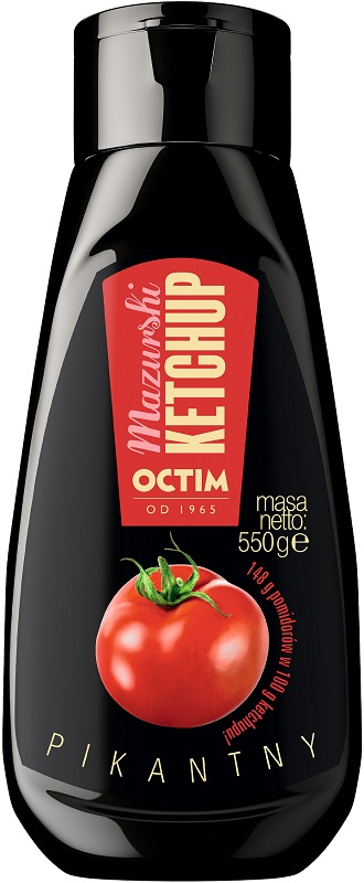 Octim Mazurski ogródek Ketchup Pikantny