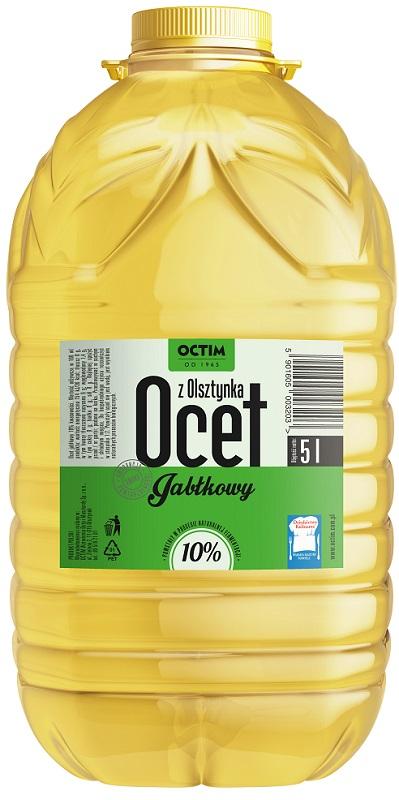 Octim Ocet jabłkowy z polskich jabłek bez konserwantów 10% kwasowości